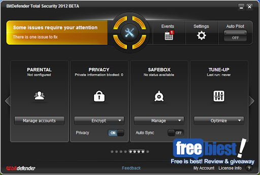Review BitDefender Total Security 2012 beta Free Download