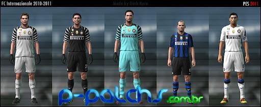 Inter de Milão Kitset 10-11 PES 2011 download P-Patchs