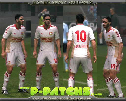 Bayer Leverkusen 11-12 Away Kit para PES 2011 PES 2011 download P-Patchs