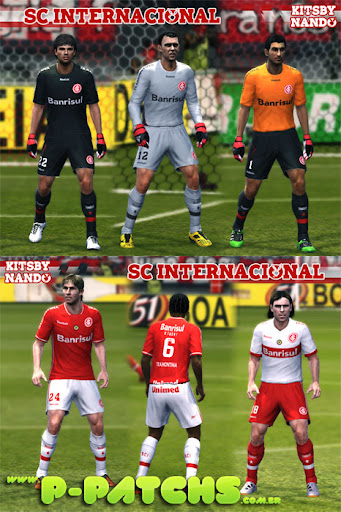 Internacional 11-12 Kitset para PES 2011 PES 2011 download P-Patchs