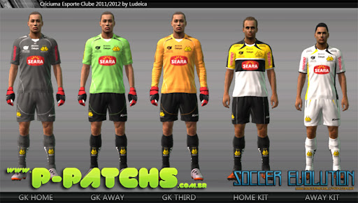 Botafogo SP Kitset 11-12 para PES 2011 PES 2011 download P-Patchs
