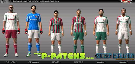 Fluminense 11-12 Kitset para PES 2011 PES 2011 download P-Patchs