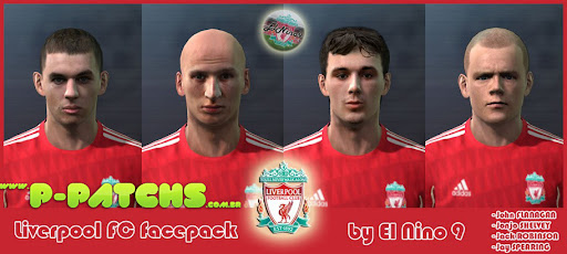 Liverpool Facepack para PES 2011 PES 2011 download P-Patchs