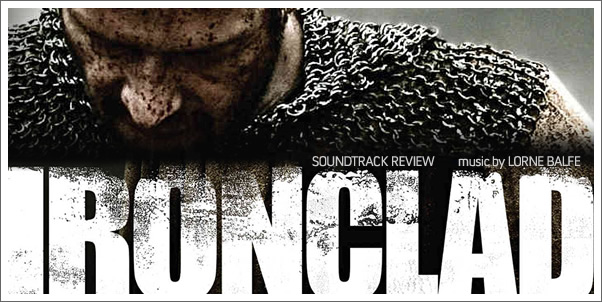 Ironclad (Soundtrack) by Lorne Balfe - Reviewed