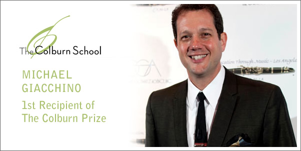 Michael Giacchino: First Recipient of the Colburn Prize