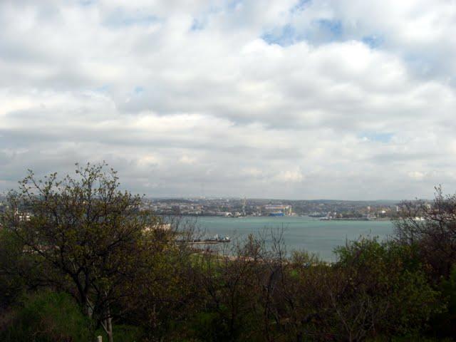 Севастополь. Радиогорка. Вид из окна