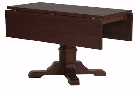 Table Shown in Chocolate Cherry