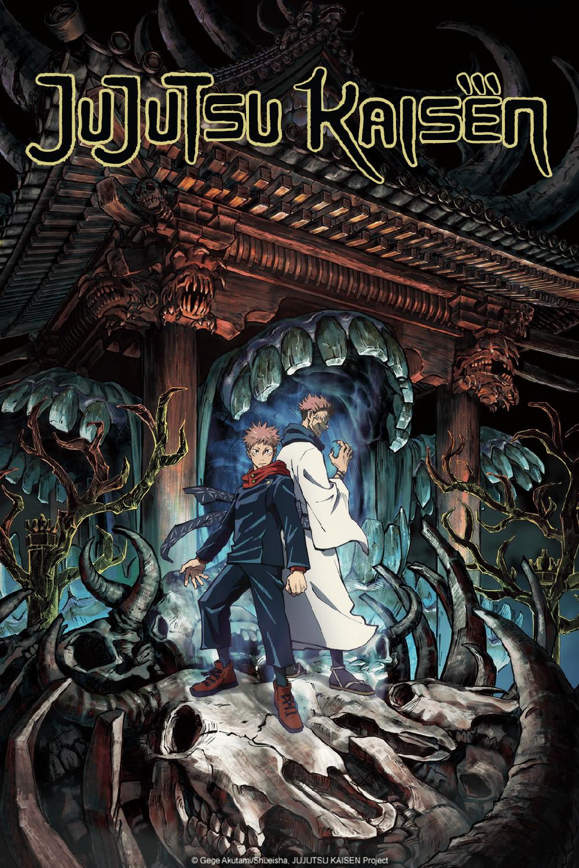 Crunchyroll Jujutsu Kaisen Anime Bereitet Sich Mit Neuem Key Visual Auf Seinen Start Im Oktober Vor