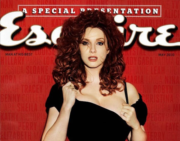 Christina Hendricks' Esquire photos amaze and astound:celebrities