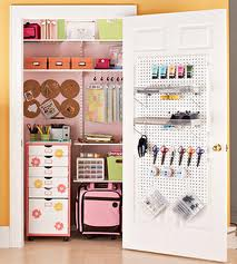Organize your scrapbook workspace