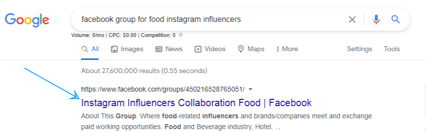 Doing research to find influencer partnerships
