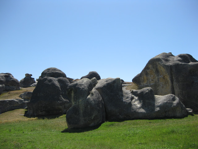 Elephant Rocks, South Island