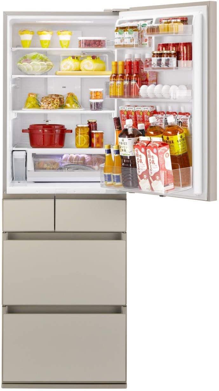パナソニック冷蔵庫NR-E455PX-N