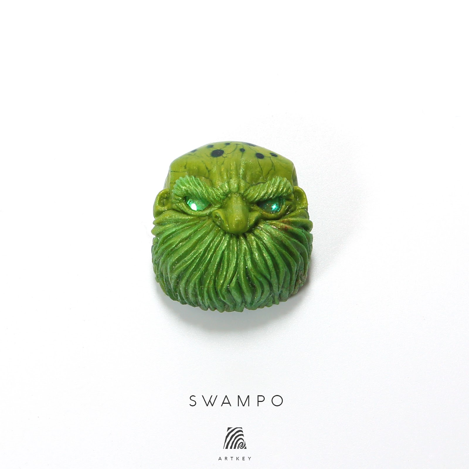 Artkey - Swampo Jack Bald