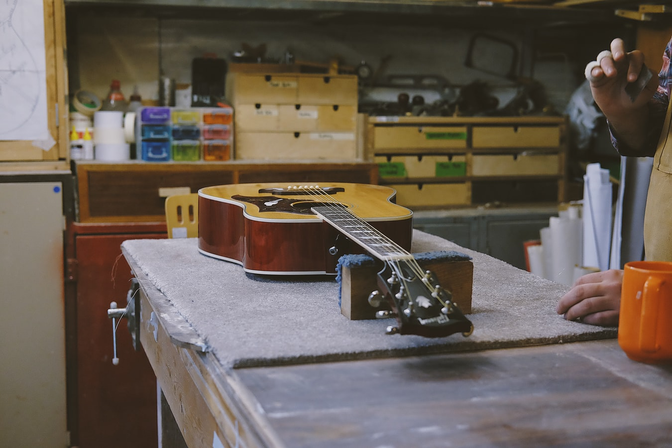 disassemble your guitar
