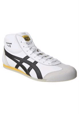 size 40 a4870 a4496 Onitsuka Tiger MEXICO MID RUNNER - Trainers - white / black ...