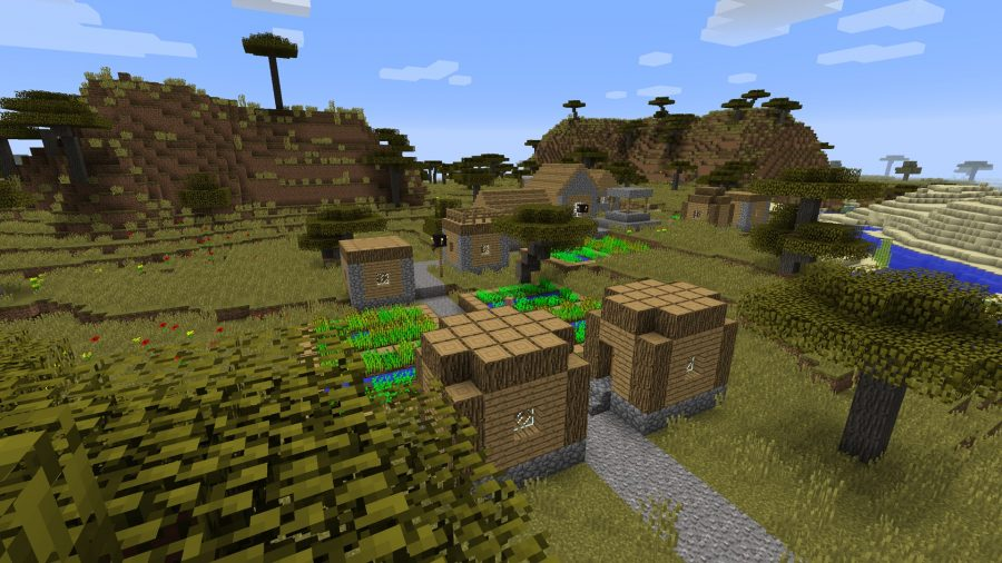 minecraft metal forger at spawn