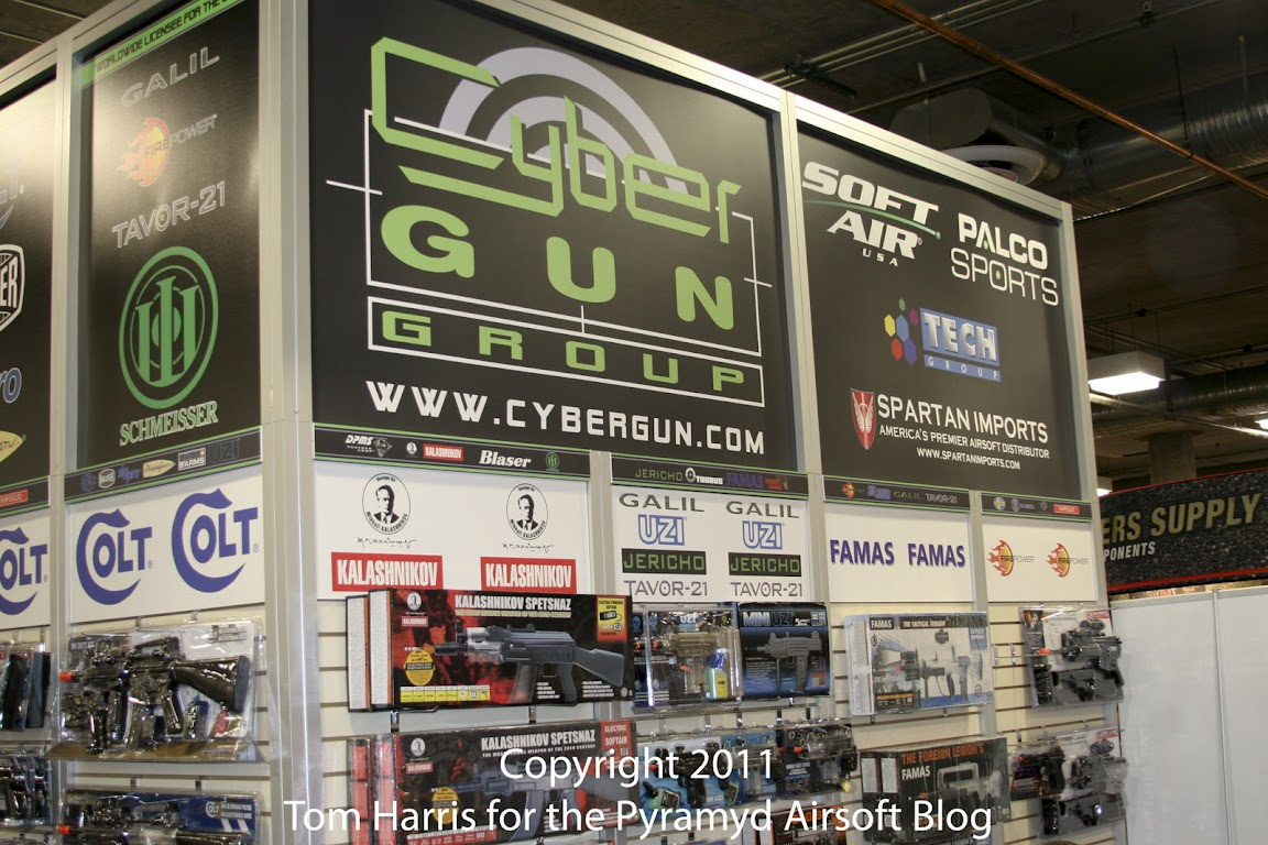 Pyramyd Airsoft Blog: Cybergun Booth - Shot Show 2011: Does ...