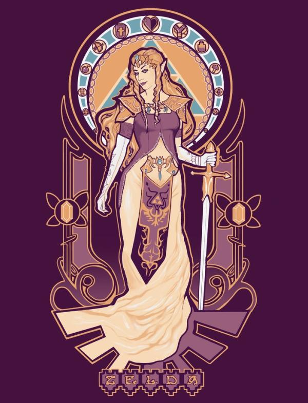 Zelda Art Nouveau