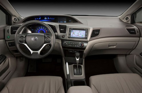 Honda Civic interior