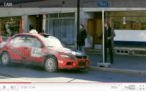 Такси Мицубиси Лансер 8