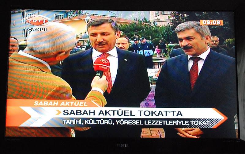 """VALİMİZ VE BELEDİYE BAŞKANIMIZ TRT-1 TELEVİZYONUNDA """" SABAH AKTÜEL"""" HABER PROGRAMINA KATILDI."""