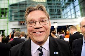 Timo Soini, lider de los «Auténticos Finlandeses»