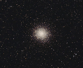 Globular Cluster M14 (NGC 6402) in the constellation Ophiuchus