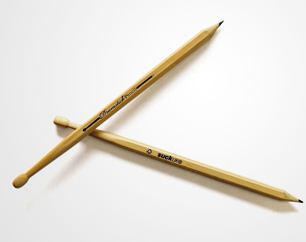 Delightful Part Pencil, Part Drumstick And Totally Ready To Rock The Office. They Come  Packaged As A Pair, Just Like Any Good Set Of Drumsticks Should. (buy)