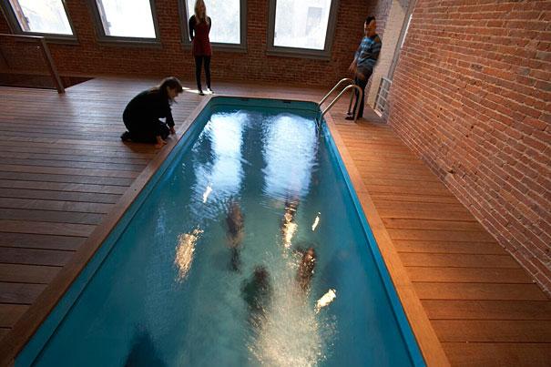 Fake swimming pool for Fake design mobel