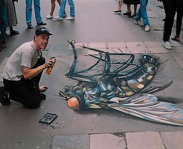 3D Sidewalk Chalk Art: 4 of the World's Most Talented Street Artists