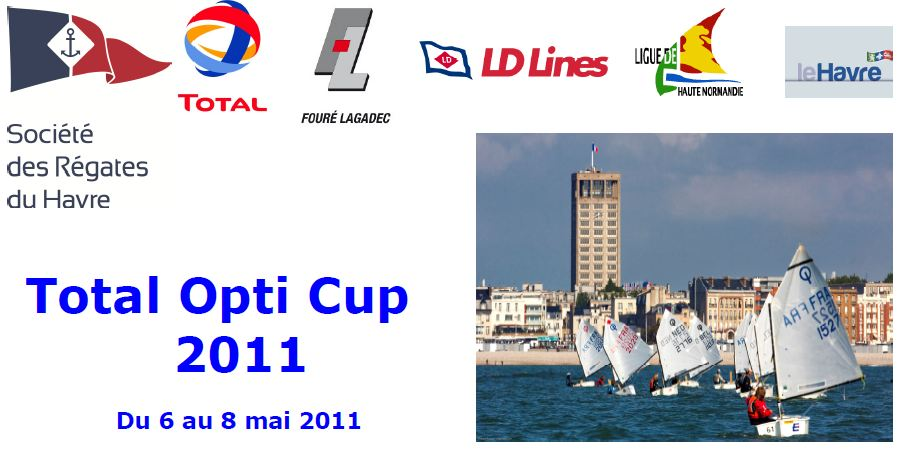 le Havre TOTAL OTI CUP Optimist Voile