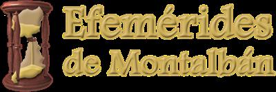 Efemérides de Montalbán
