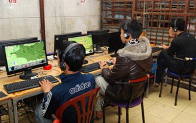 Hà Nội: Vẫn buông lỏng đại lý Internet 3