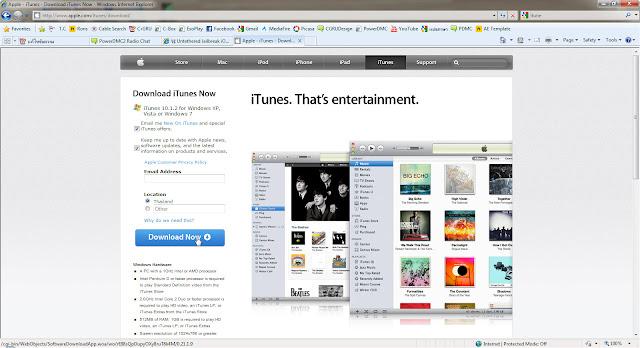 เทคนิคการ Jailbreak iPad iOS version 4.2.1 ด้วย greenpois0n Itunes