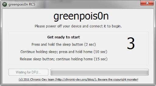 เทคนิคการ Jailbreak iPad iOS version 4.2.1 ด้วย greenpois0n Ipad009