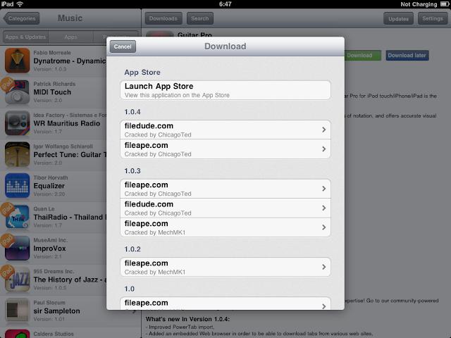 เทคนิคการ Jailbreak iPad iOS version 4.2.1 ด้วย greenpois0n Ipad051