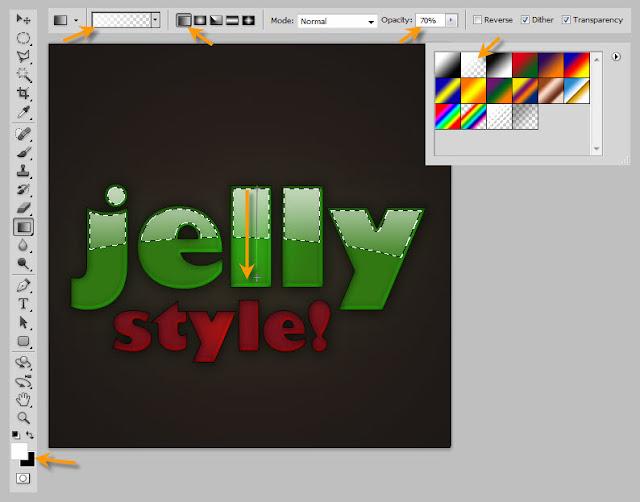 เทคนิคการสร้างตัวอักษรแบบ Plastic Jelly Pj16