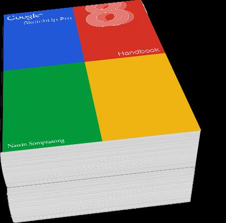 SketchUp Pro 8 Handbook ภาษาไทย 33 หน้า SU8HB