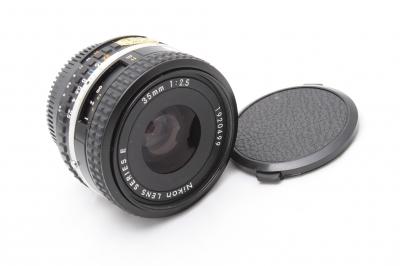 Nikon series E 35mm f2.5試鏡