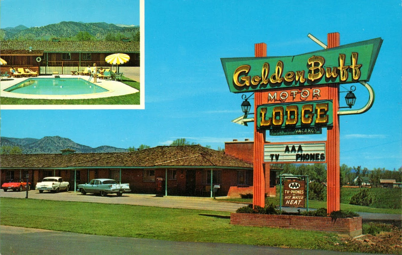 Golden Buff Motor Lodge