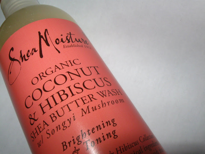 Shea Moisture's Coconut & Hibiscus Shea Butter Wash w/ Songyi Mushroom
