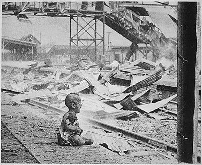 Bitácora: Argumentum ad ignorantiam.-Bombardeo en Shangai, 28-8-1937