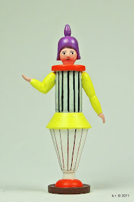 Figurine, 1920 - farbig angelegt