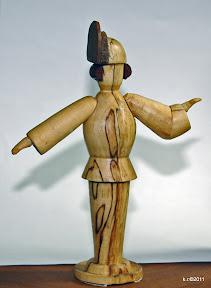 Figurine, 1926 - naturbelassen