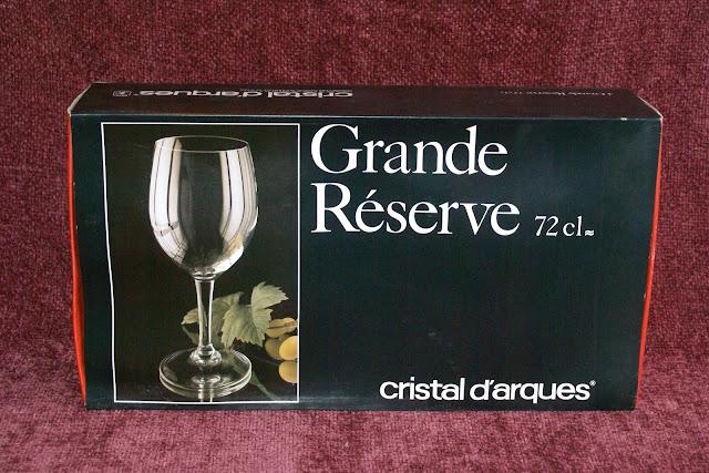 4 verres vin grande reserve 72cl cristal d arques. Black Bedroom Furniture Sets. Home Design Ideas
