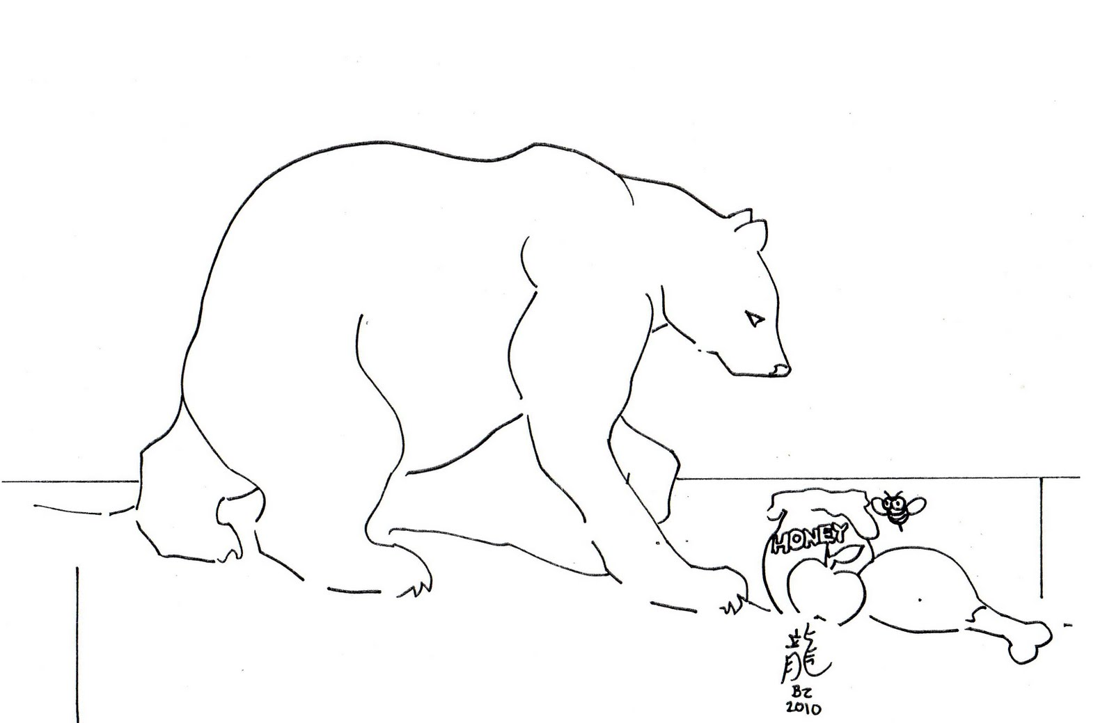 Lars The Little Polar Bear Coloring Pages - Coloring Home | 1039x1600