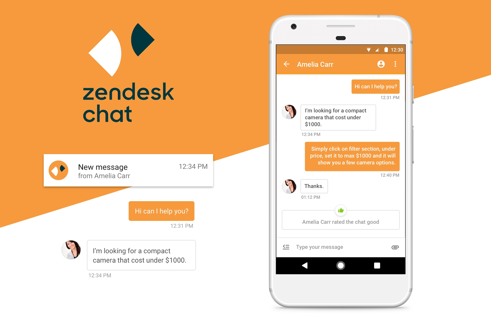 zendesk chat + meets