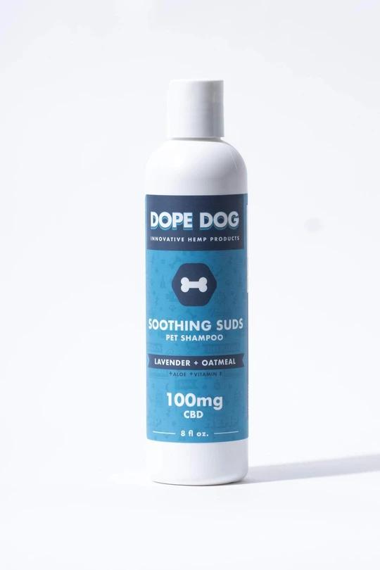 Oatmeal Lavender CBD Dog Shampoo