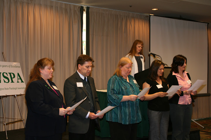 New WSPA Officers and Directors sworn in
